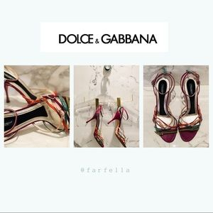 Dolce and Gabbana couture heels size 39